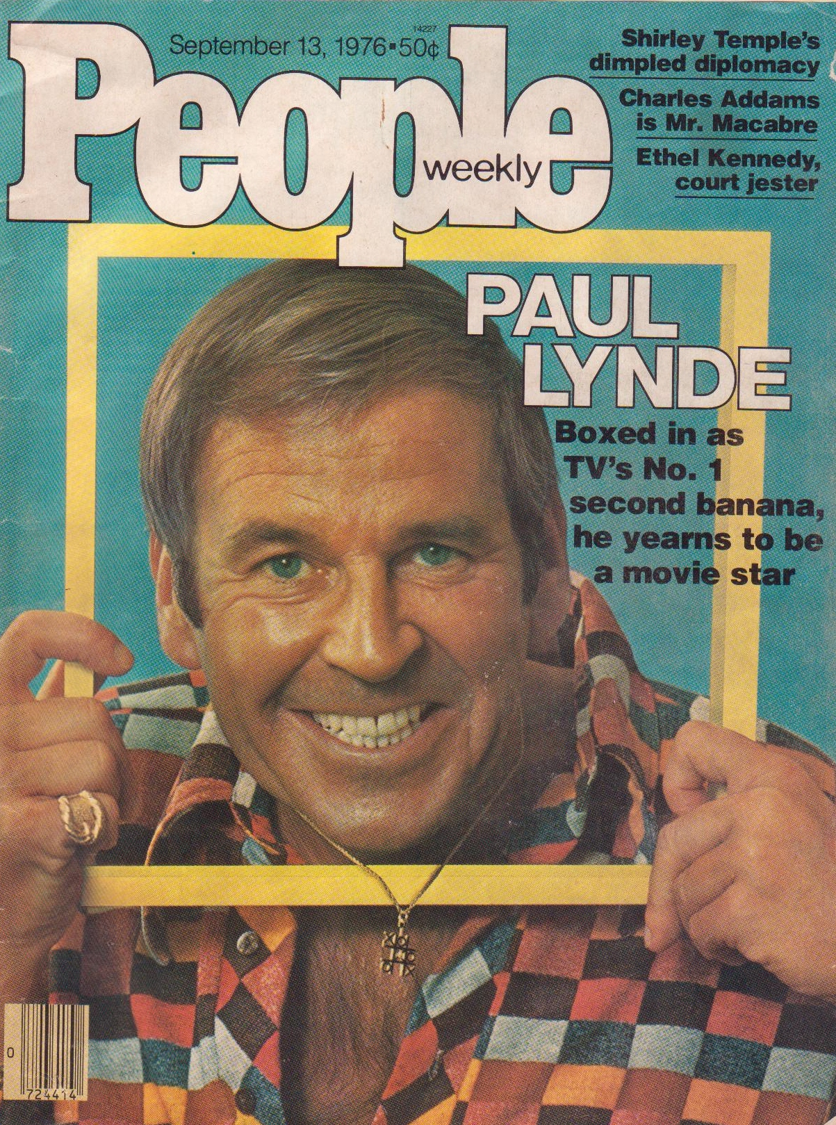 Paul Lynde on People cover