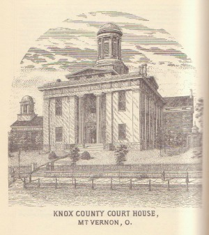 Knox Co. Ohio Court House-1855