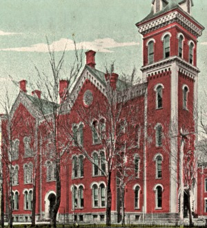 First Mt. Vernon, Ohio, High School