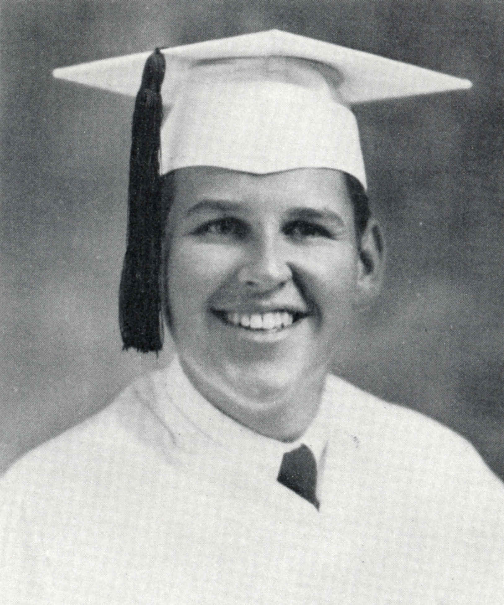 Paul Lynde 1944 graduation photo